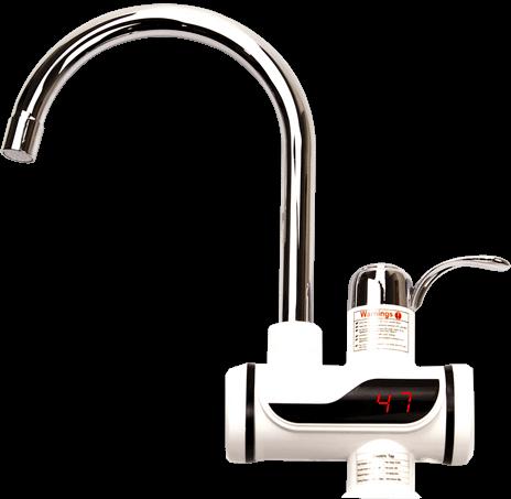 Цифровой кран водонагреватель проточный
