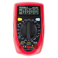 Мультиметр цифровой INTERTOOL MD-0001, фото 1