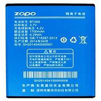Аккумулятор ZOPO BT28S. Батарея ZOPO BT28S (1700 mAh) для ZP580 ZP590. Original АКБ (новая)