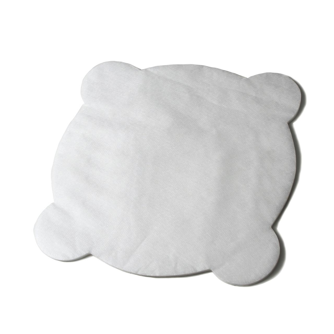 Салфетки для стоматологической чаши из спанбонда Polix PRO&MED (50шт в упаковке) Белые