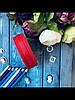 """Лента репсовая перфорированная 2.5 см """"Ажурная каемка"""" бордового цвета, 20 ярд/уп, оптом SD"""
