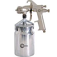 Фарборозпилювач, 1.8 мм, з нижнім металевим бачком 1000 мл. INTERTOOL PT-0222