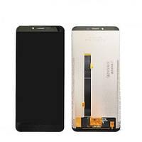 Дисплей для мобильного телефона Cubot X18 Plus, черный, с тачскрином
