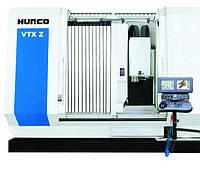 Обрабатывающий центр с подвижными колоннами Hurco серии VTX Z с маятниковой и двузональной обработкой