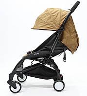 СУПЕР лёгкая и удобная детская прогулочная коляска YOYA 165 обновлённая (Оксфорд 4-ярусная) Хаки