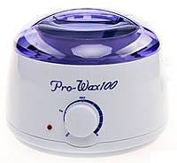 Воскоплав баночный с регулировкой Pro-wax 100 восконагреватель для депиляции в домашних условиях