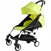 СУПЕР лёгкая и удобная детская прогулочная коляска YOYA 165 обновлённая (Оксфорд 3-ярусная) Лимон