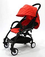 СУПЕР лёгкая и удобная детская прогулочная коляска YOYA 165 обновлённая (Оксфорд 4-ярусная) Красный