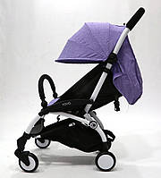 Детская прогулочная коляска YOYA 165, b/Purpuple