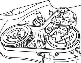 Ремни, ролики, натяжные механизмы ремня генератора