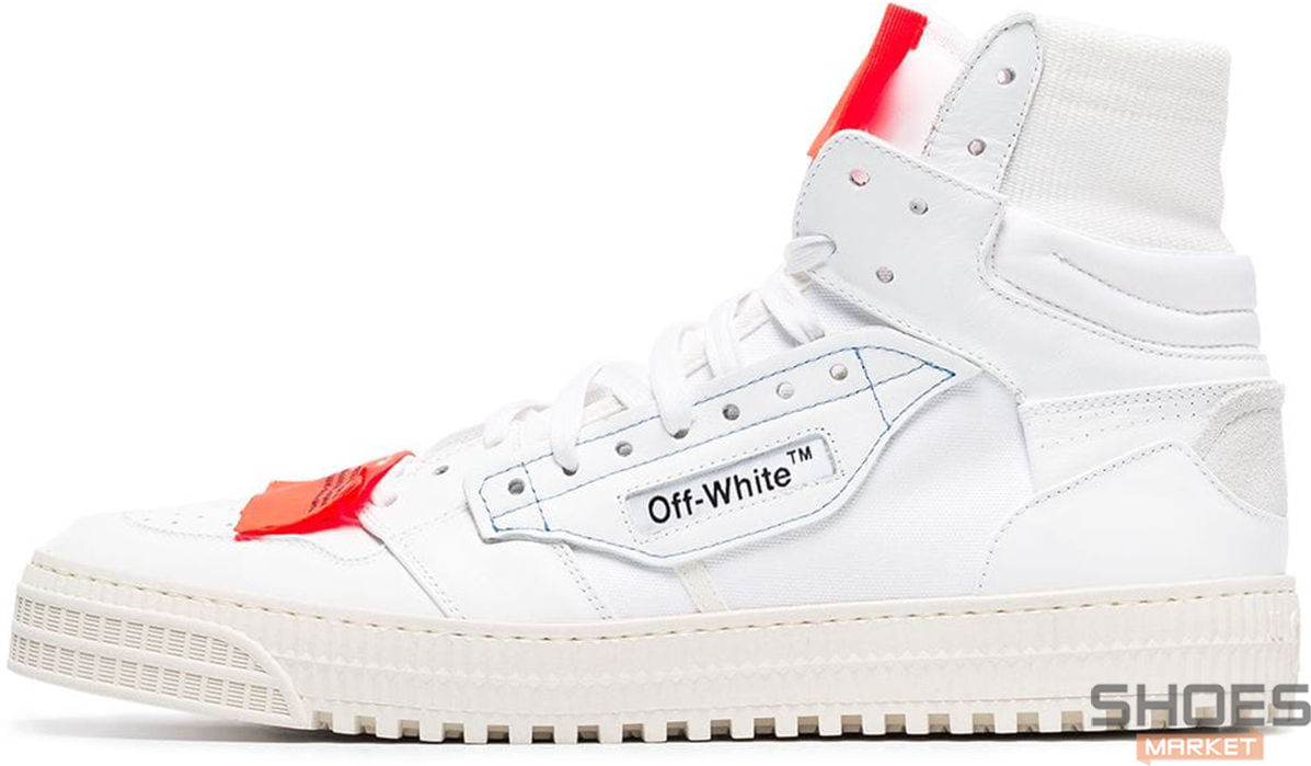Мужские кроссовки Off-white Low 3.0 Hi-Top White OWIA112E19F550770100, Оф вайт Лов 3.0