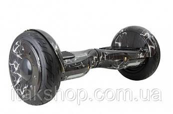 Гироборд Smart Balance Wheel U8 TaoTao APP 10,5 дюймов lightning (молния) с самобалансом и колонкой, фото 2