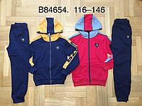 Трикотажный костюм 2 в 1 для мальчика оптом, Grace, 116-146 см,  № B84654, фото 1