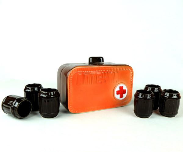 Аптечка - подарочный набор для спиртного