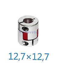 Гибкая кулачковая муфта 12,7х12,7М (L30, D25), фото 2