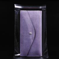 Полипропиленовый пакет с липким клапаном 22 x 24 см (уп-100 шт)