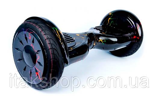 Гироборд Smart Balance Wheel U8 TaoTao APP 10,5 дюймов colour lightning  с самобалансом и колонкой, фото 2