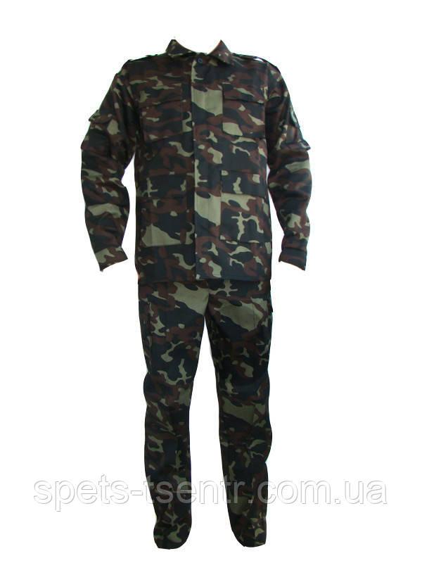 Форменный камуфляжный костюм Дубок Украина