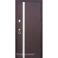 Двери входные в квартиру Steelguard AV-1 Венге тем./бел.