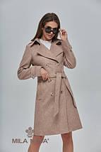 Двубортное демисезонное пальто, фото 2