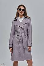 Двубортное демисезонное пальто, фото 3