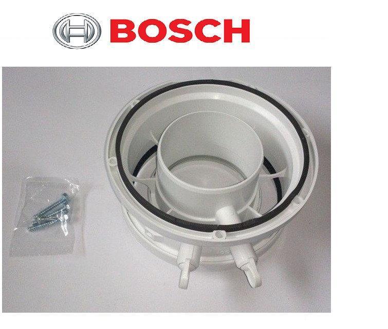 Bosch AZB 1093 Адаптер Димой трубы 60/100 в котел с подключением 80/125 мм