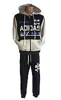 Спортивный костюм ADIDAS для мальчика трикотаж на манжетах (Р. 7-12лет).Оптом склада из одессе(7км).