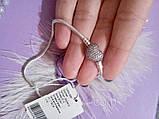 Браслет PANDORA з застібкою у вигляді серця Pave, фото 2