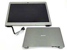 Матриця з кришкою для ноутбука Acer Aspire S3 S3-951 S3-391 (Комплект в зборі з матрицею, шлейфом і петлями