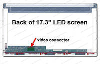Матриця ASUS X73E-TY121V 17.3 led 40 pin матова