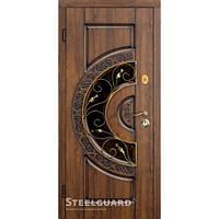 Двери входные в дом Steelguard Optima glass