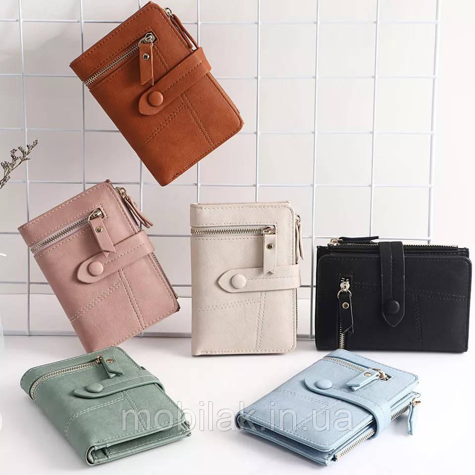 Практичный женский кошелек бренда MUQGEW