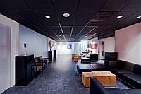 Плита подвесного потолка ЧЕРНАЯ Rockwool Rockfon Industrial Black 1200x600x25 мм акустическая влагостойкая