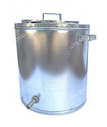Воскотопка паровая 17 литров. Оцинкованная.