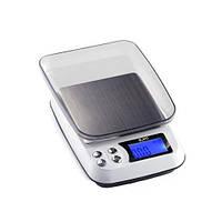 Весы цифровые DM.3 (±0,1-1000 г) с функцией счета, съемной крышкой  220V  Pocket Scale