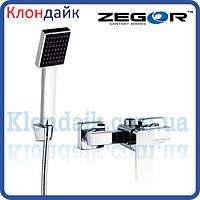 Смеситель для душевой кабины Zegor LEB5 WKB123 (хром)