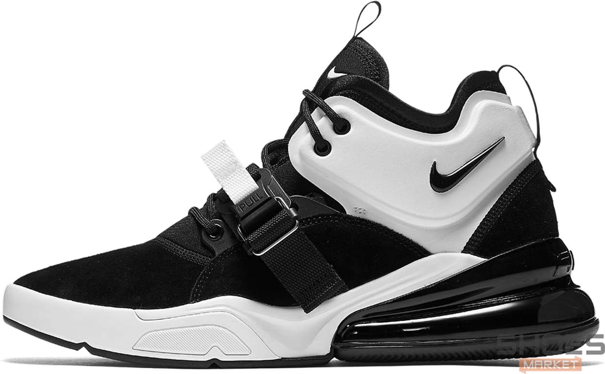 Мужские кроссовки Nike Air Force 270 Movement Black White AH6772 006, Найк Аир Форс