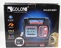 Радио RX 2019 Радиоприемник от сети и батареек, Радиоколонка переносная