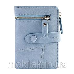 Практичный женский кошелек бренда MUQGEW Blue