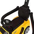 *Електромобіль (каталка - толокар) з батьківською ручкою Lamborghini (світло фар,музика) арт. 3591-6, фото 8