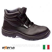 Спецвзуття Exena (робочі черевики ІТАЛІЯ) з металевим носком шкіряні