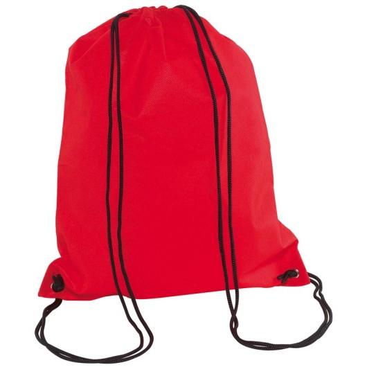 Рюкзак-мешок для сменной обуви, спортивной формы.  DOWNTOWN Красный