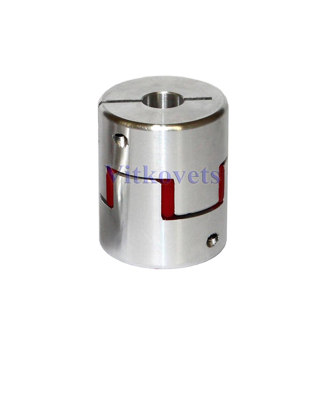 Гибкая кулачковая муфта 10х10В (L50, D40)