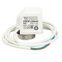 Электротермический сервопривод Watts НО 22CX230NA2 230 В