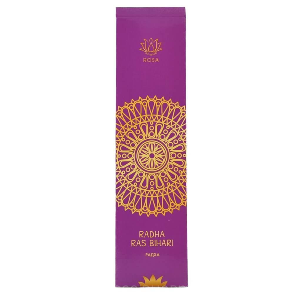 Аромапалочки Радха Раса Бихари (Radha Ras Bihari Masala), 10 штук