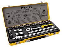 """Набор торцевых головок и ключей STANLEY 1/2""""DR 8-32 мм, 24 предмета"""