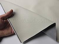 Биэластик, кожзам тягучий цвет белый песок, структурный (bl-8), для перетяжки салона авто