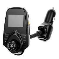 FM-трансмиттер модулятор Kronos MP3 Bluetooth T10 (sp3776)