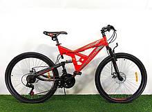 Спортивный велосипед 26 дюймов 18 рама Shock Azimut + подарок. Велосипед азимут