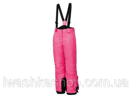 Зимние лыжные термо штаны на девочек 6 - 8 лет, р. 122 - 128, Crivit / Lidl